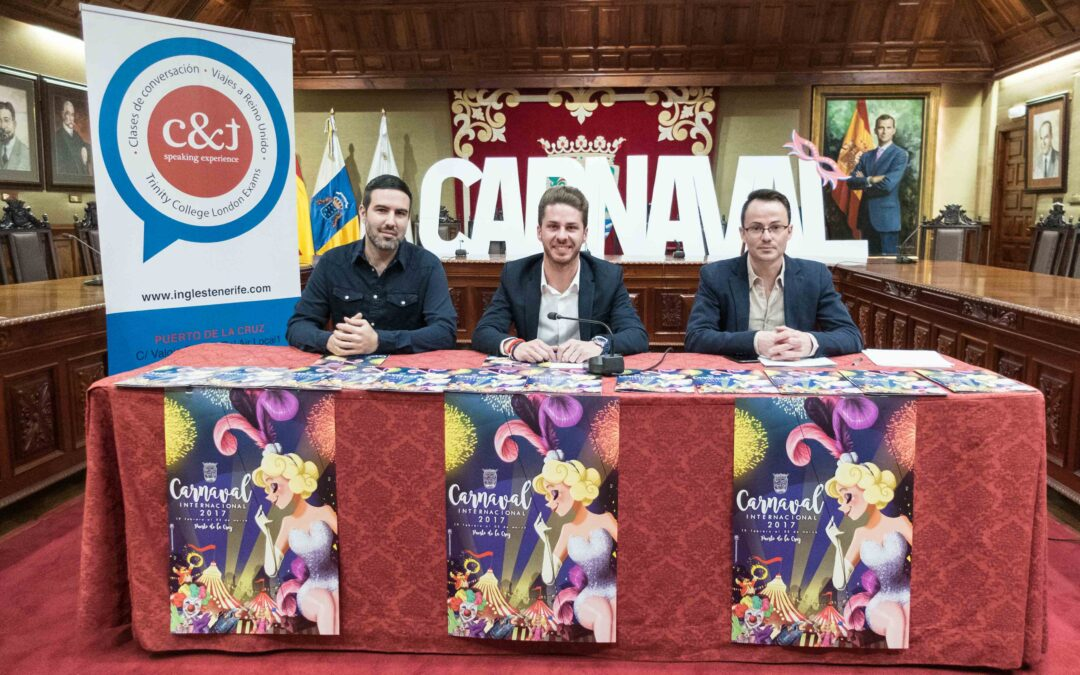 Se presenta el programa del Carnaval Internacional del Puerto de la Cruz 2017