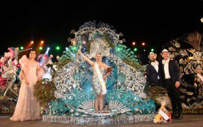 Raquel Galván Pestaille, Reina del Carnaval Internacional del Puerto de la Cruz 2017