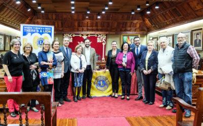 El Club de Leones celebra su 50 aniversario en el Puerto de la Cruz