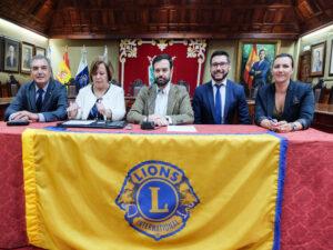 Rueda de prensa 50 Aniversario Club de Leones