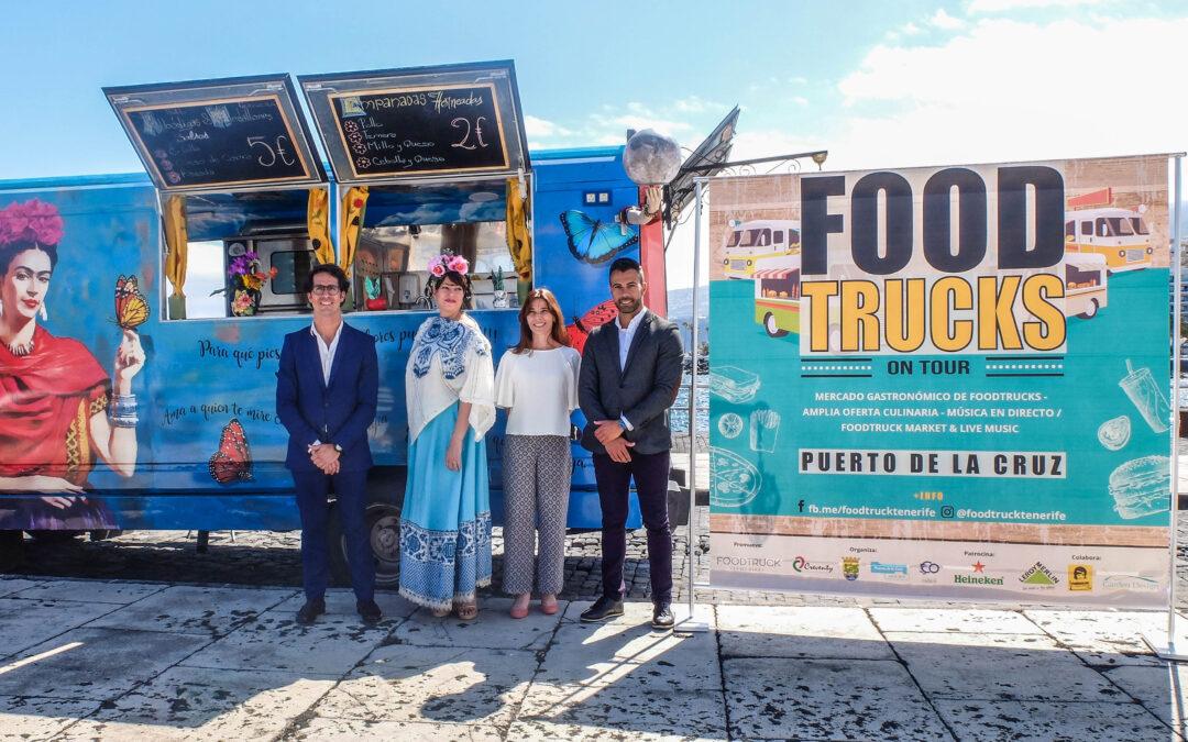 El Puerto de la Cruz celebra la primera edición de FoodTrucks on Tour