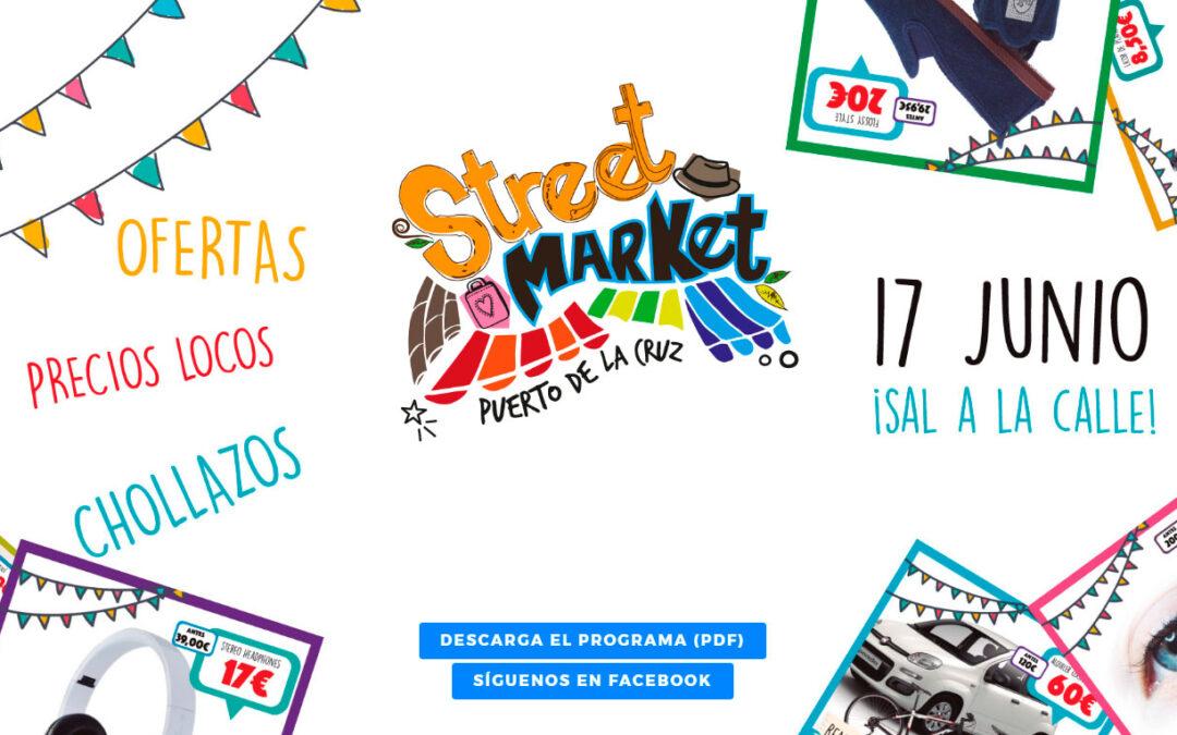 Programa de actividades para Puerto Street Market