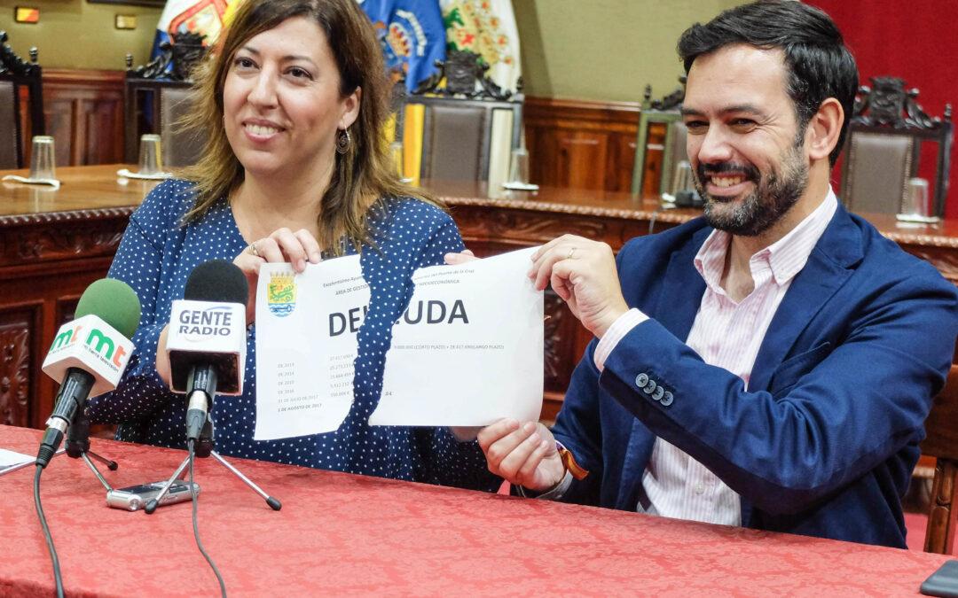 El Ayuntamiento del Puerto de la Cruz cancela la deuda y abandona el Plan de Ajuste