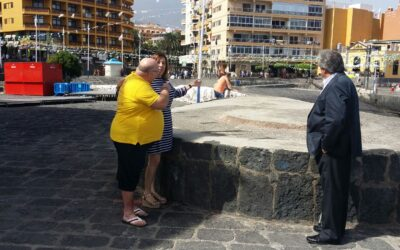 Puerto de la Cruz instalará la imagen de la Virgen del Carmen en la trasera de la Casa de la Real Aduana