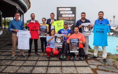 La II Media Maratón Nocturna Puerto de la Cruz-Divina Pastora Seguros reúne a más de 1.300 corredores