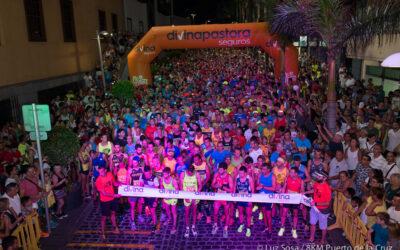 Espectáculo y deporte se unen en la II Media Maratón Nocturna de Puerto de la Cruz