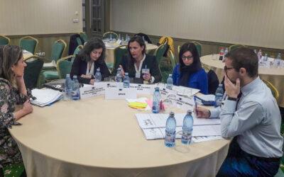 Diana Morá asiste en Bucarest a la elaboración del Plan de Acción Nacional de Educación Permanente