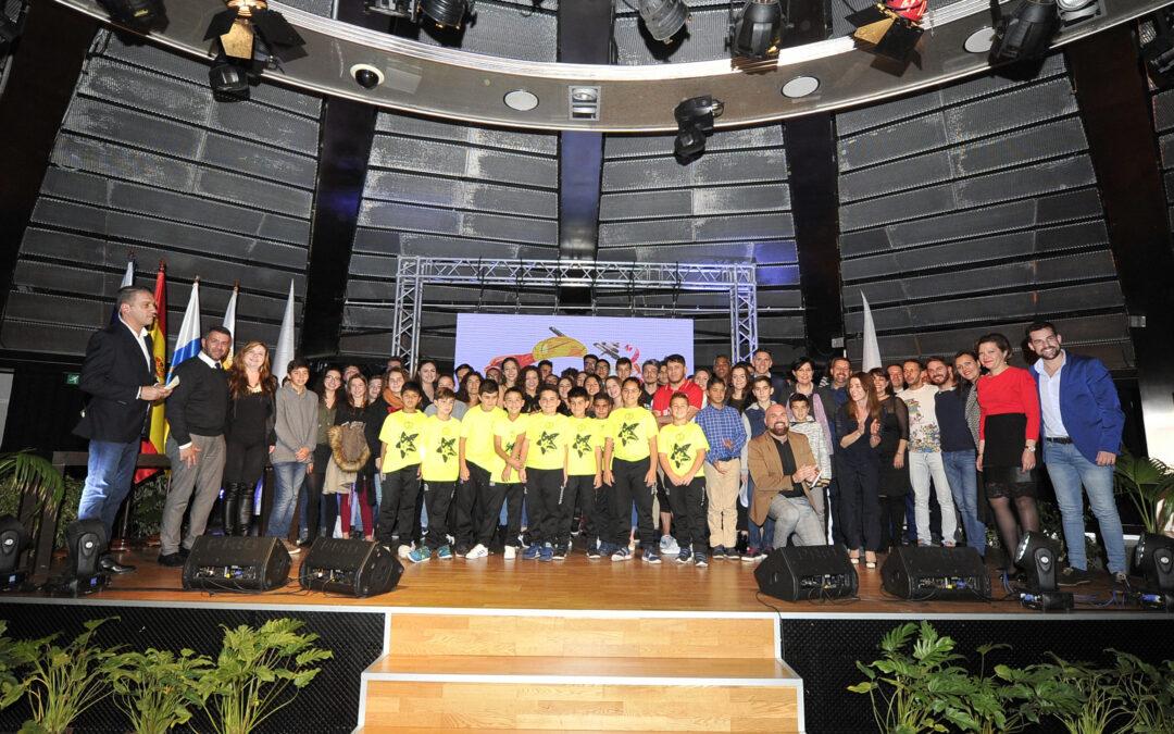 Puerto de la Cruz premia a los mejores deportistas en la Gala del Deporte 2017