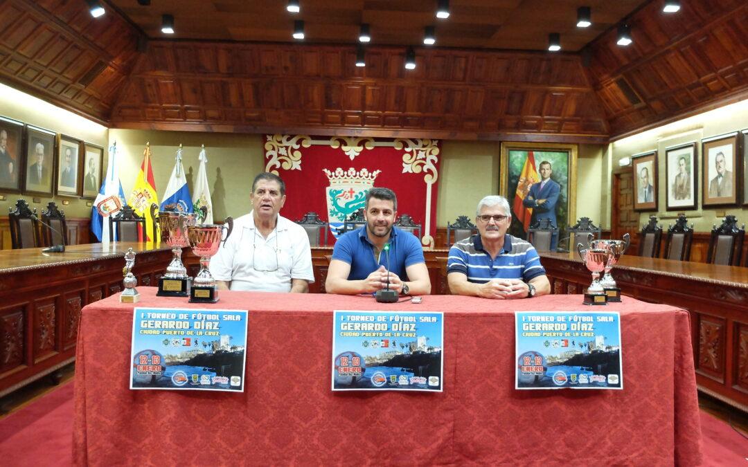 Puerto de la Cruz celebra el primer Torneo de Fútbol Sala Gerardo Díaz