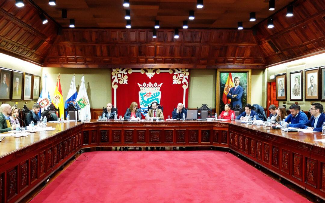 El Ayuntamiento del Puerto de la Cruz aprueba inicialmente el presupuesto con más inversión de los últimos años