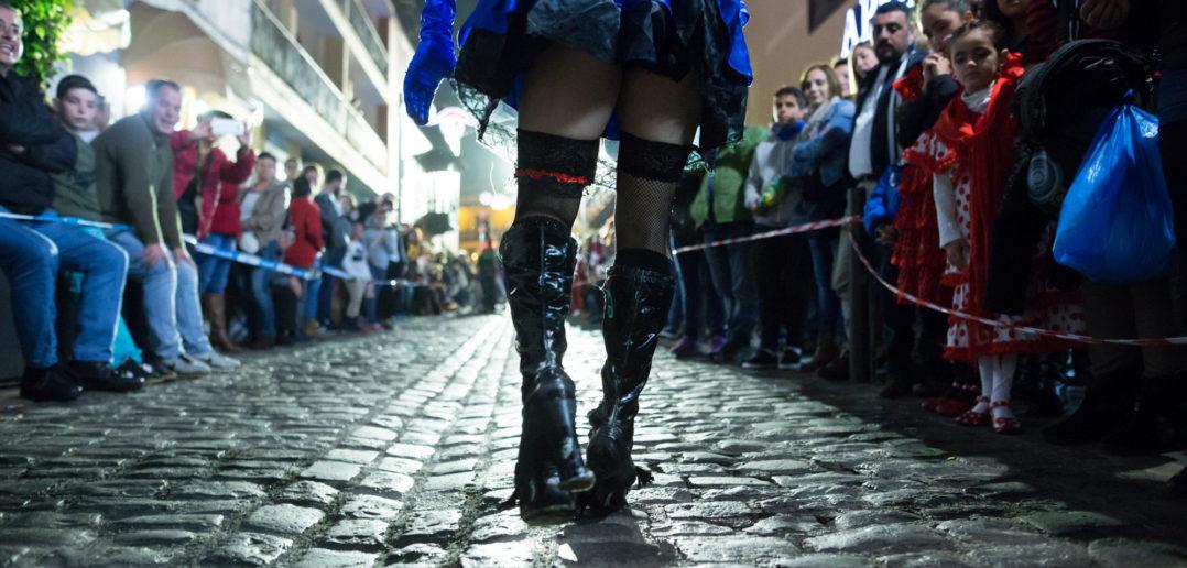 Puerto de la Cruz replicará en el corazón de Madrid la carrera más loca del carnaval de Tenerife: 'Mascarita Ponte Tacón'