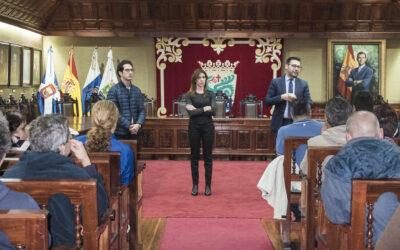 El Ayuntamiento del Puerto de la Cruz contrata a 47 desempleados a través de un programa de formación y empleo