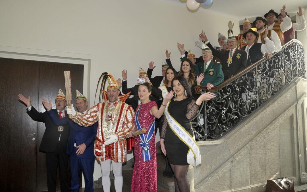 La comitiva del carnaval internacional del puerto de la cruz se traslada a Düsseldorf
