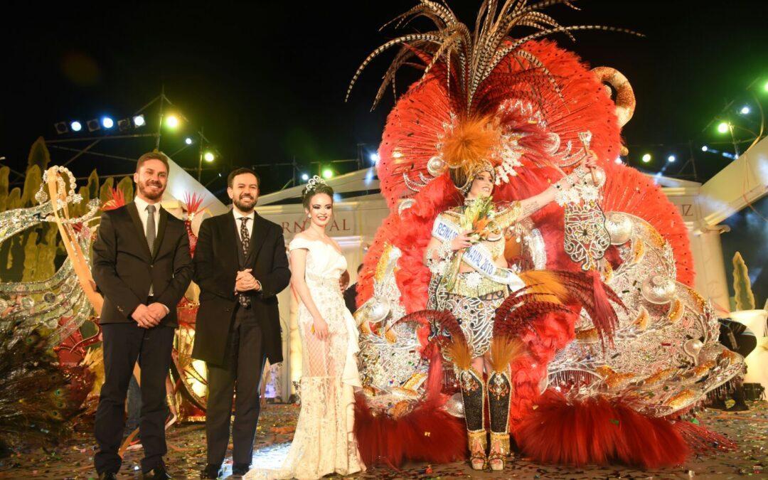 Paula Viera de León, Reina del Carnaval  Internacional del Puerto de la Cruz 2018