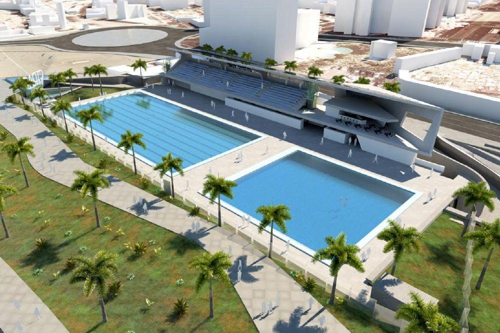 Se aprueba el convenio para la construcci n del centro de for Piscina municipal puerto de la cruz