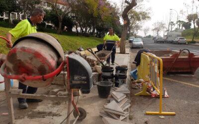 El ayuntamiento ejecuta trabajos de mejora en el barrio de La Vera
