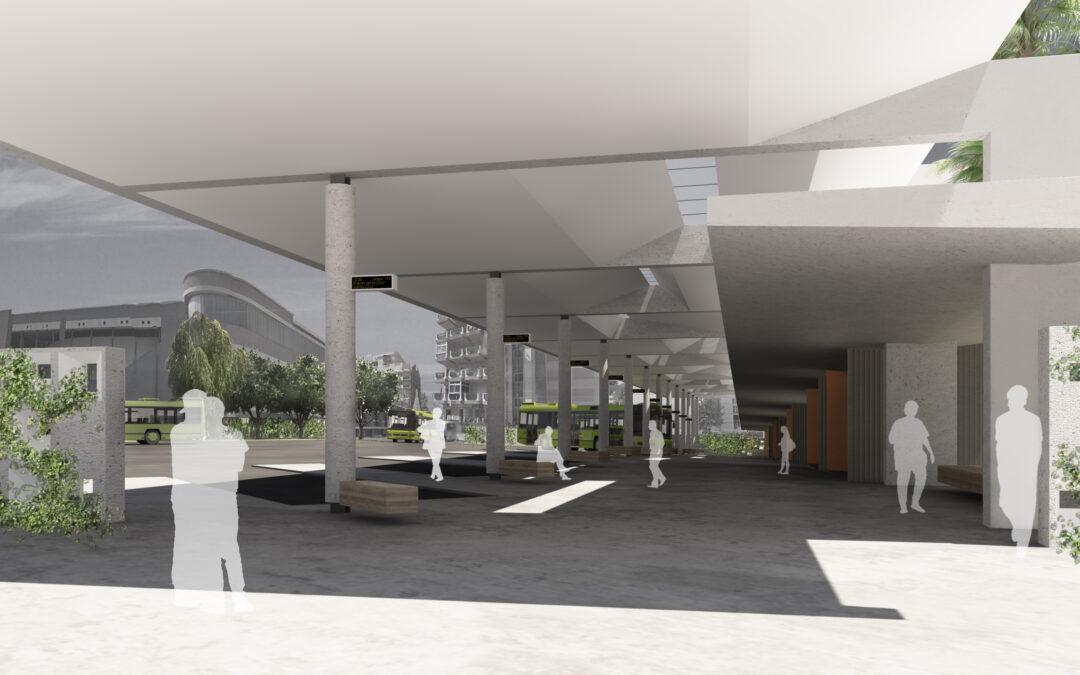 Comienzan las obras de la nueva estación de guaguas del Puerto de la Cruz