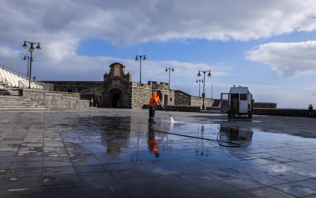 El Ayuntamiento valora positivamente la campaña de gestión de residuos en el Festival Mueca