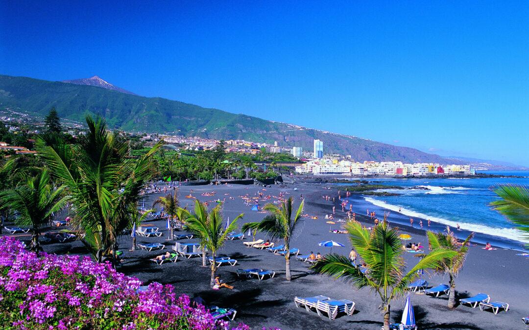 Playa Jardín y San Telmo obtienen la Bandera Azul