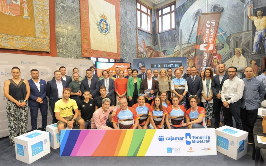 La Cajamar Tenerife Bluetrail 2018 congregará a 2.400 deportistas de 38 nacionalidades