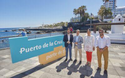 Puerto de la Cruz estrena su nueva marca ciudad, 'Puerto de la Cruz, parte de ti'