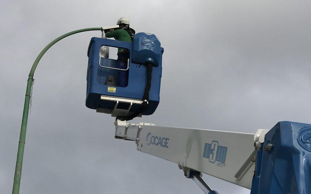 Puerto de la Cruz implanta más de 2.000 nuevas luminarias led