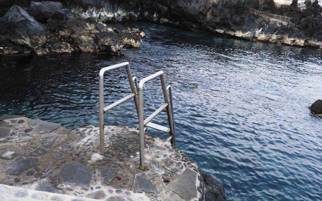 Nuevo acceso y escalera en la costa de la calle Víctor Machado en Punta Brava
