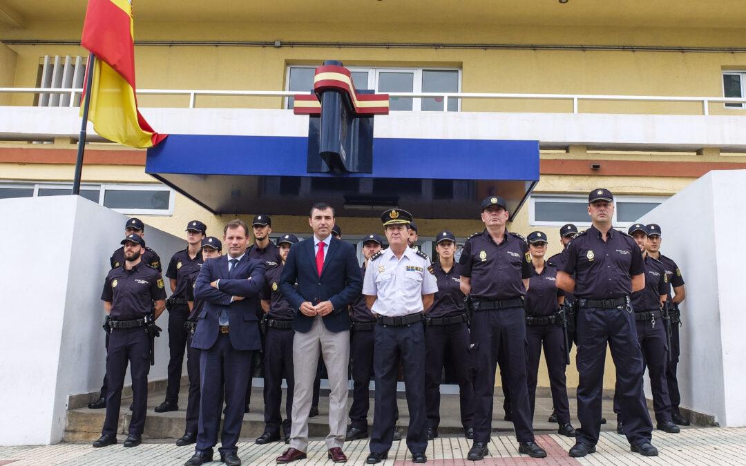 La Policía Nacional del Puerto de la Cruz y Los Realejos incorpora 15 agentes en prácticas