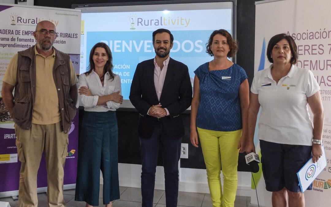 El CIE y Fademur presentan el programa de emprendimiento rural 'Ruraltivity'