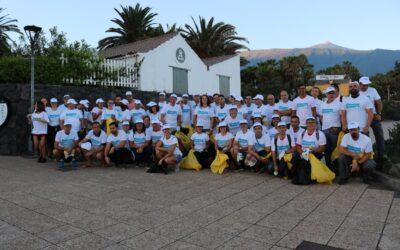 Puerto de la Cruz se suma al Día Internacional de la Limpieza de Playas