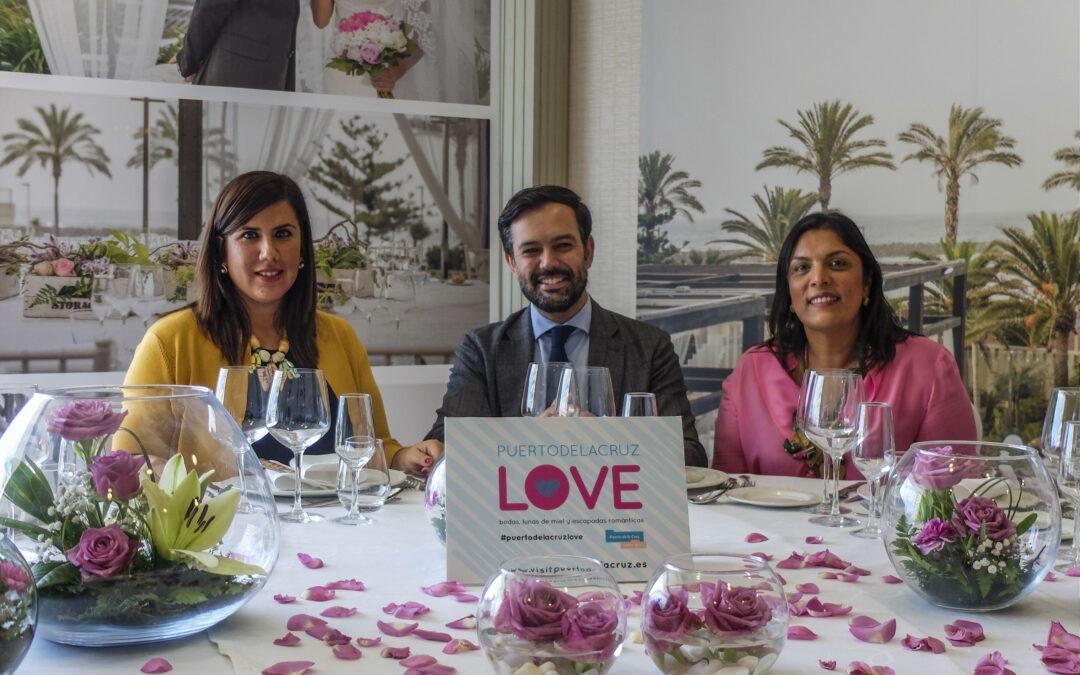 Puerto de la Cruz apuesta por el turismo de bodas y viajes románticos