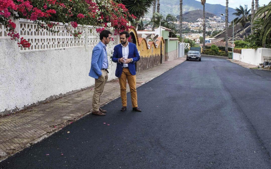 El Ayuntamiento de Puerto de la Cruz inicia la licitación del asfaltado de tres vías importantes del municipio