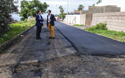 Comienzan los trabajos de asfaltado en la Urbanización San Nicolás
