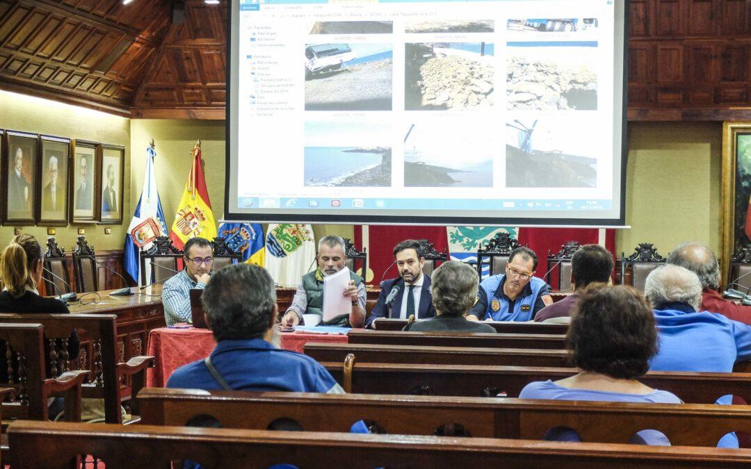 Los vecinos desalojados de la calle Tegueste podrán volver a sus casas el miércoles