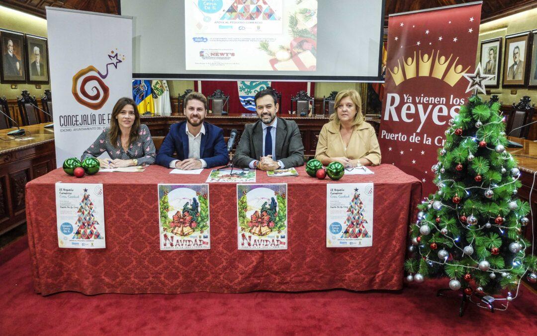 Comienza la campaña de Navidad y Reyes en el Puerto de la Cruz