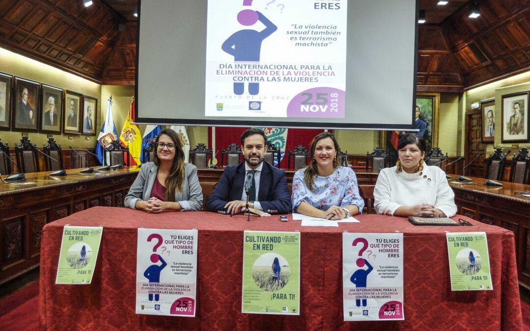 La concejalía de Igualdad presenta su programa de actividades para el mes de noviembre
