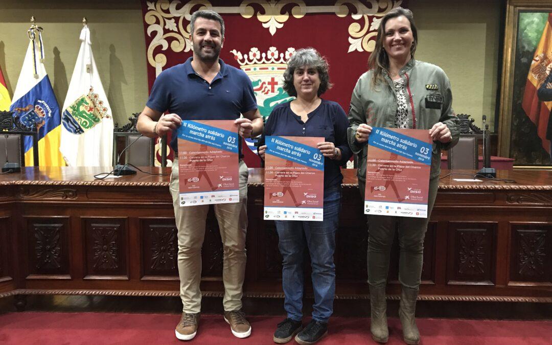 Puerto de la Cruz acoge la II edición de la carrera 'Kilómetro Solidario Marcha Atrás'