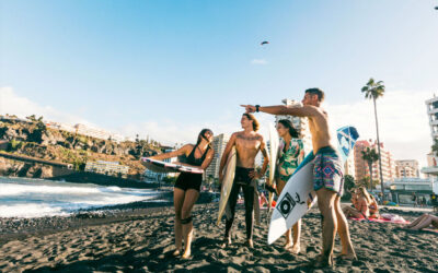 Playa de Martiánez acogerá este fin de semana el Campeonato de Canarias de Surf Sub 18
