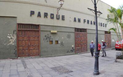 Se licita el desmontaje del Parque San Francisco y acabados de la Casa Díaz Fragoso