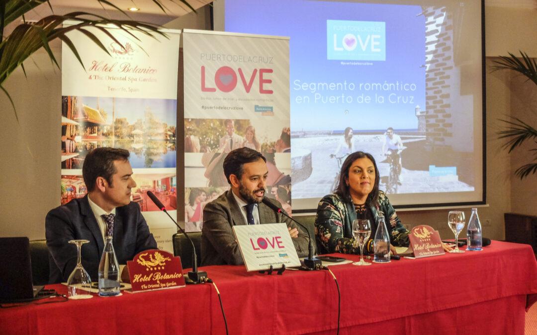 Puerto de la Cruz creará un catálogo de servicios para potenciar el segmento de turismo romántico