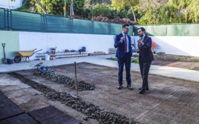 La Escuela Infantil Jacaranda reforma los patios y zonas de recreo