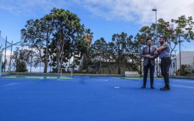 El Ayuntamiento del Puerto de la Cruz mejora el polideportivo 'Las Mesitas'