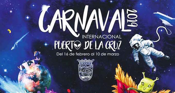PROGRAMA DEL CARNAVAL INTERNACIONAL DE PUERTO DE LA CRUZ 2019