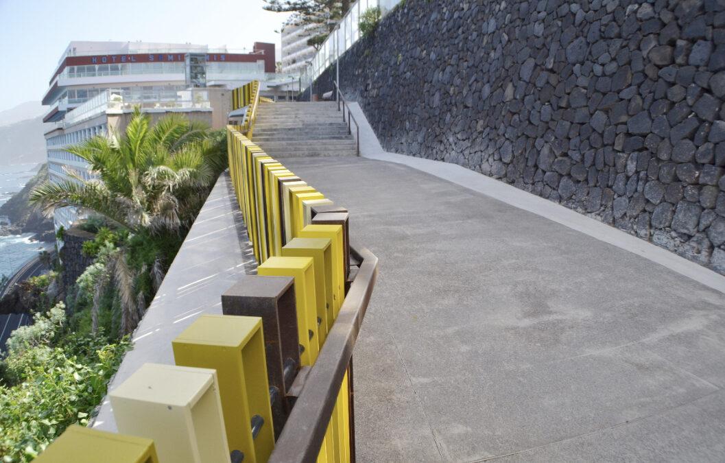 Abiertos al público dos tramos del Paseo de la Costa en Puerto de la Cruz