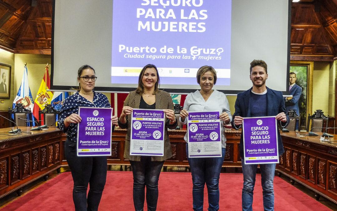 Puerto de la Cruz será ciudad segura para las mujeres durante el Carnaval