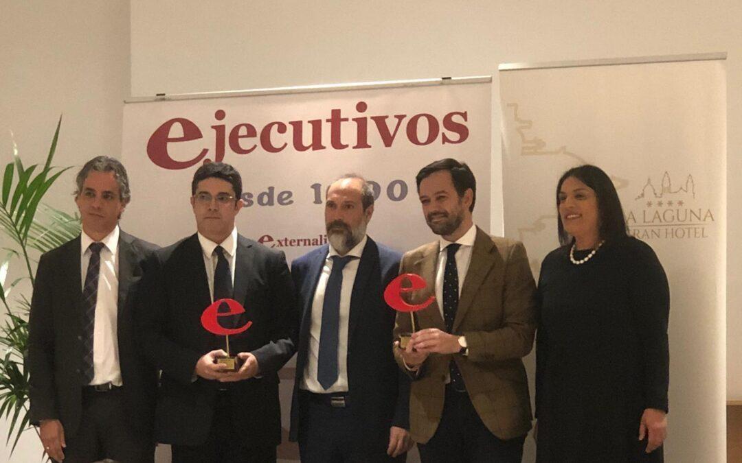 El Ayuntamiento portuense y la consultora Innovaris reciben el premio Colaboración Público-Privada de la revista Ejecutivos