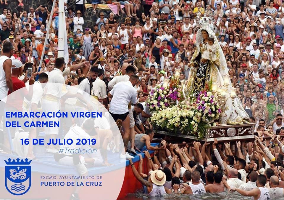 Embarcación de la Virgen del Carmen 2019