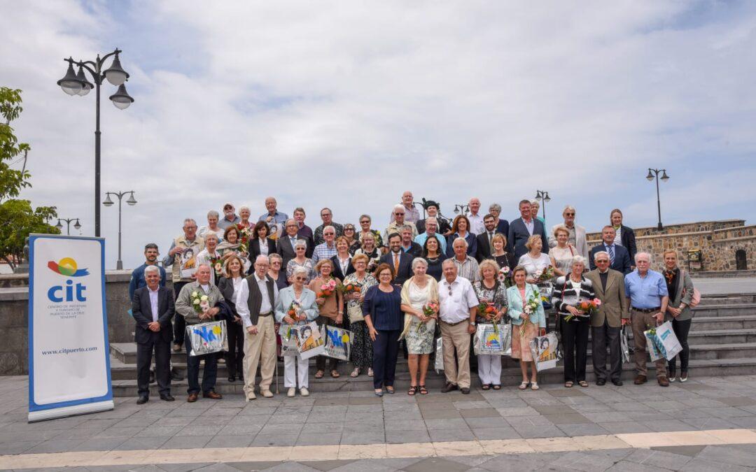 El CIT condecora a los turistas asiduos al Puerto de la Cruz