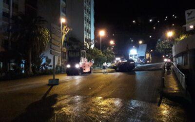 El Ayuntamiento de Puerto de la Cruz comienza el asfaltado de la Punta de la Carretera