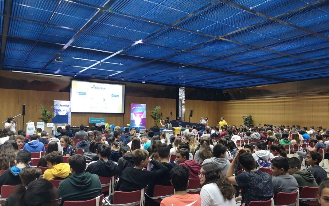 Las jornadas de Sensitur 'arrasan' en Puerto de la Cruz con más 400 alumnos